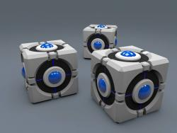 3 Portal Ball made in Cinema 4D