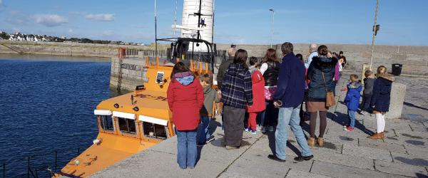 Talk and visit to Donaghadee Lifeboat station with the RNLI