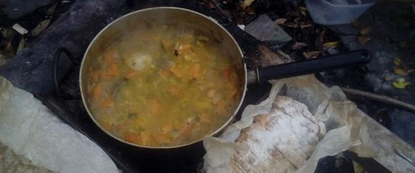 Wild Woods Cooking in An Creagán