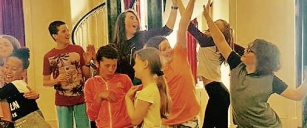 Physical Theatre Workshop with Kids In Control