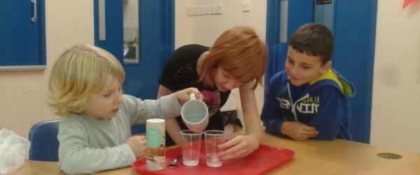 Chemistry Experiment at HEdNI Meet