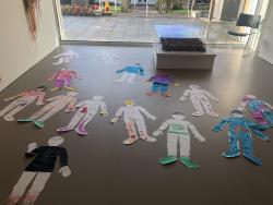 Artist led art class FE McWilliam Gallery
